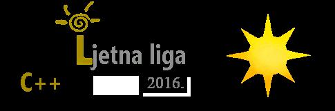 Ljetna liga C++ 2016